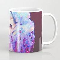 barachan Mugs featuring tsundere by barachan