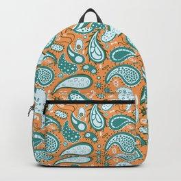 Bacterial paisley Backpack