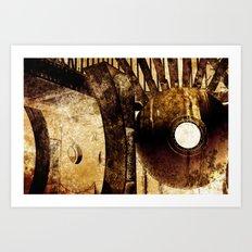 Rusty Essence Art Print