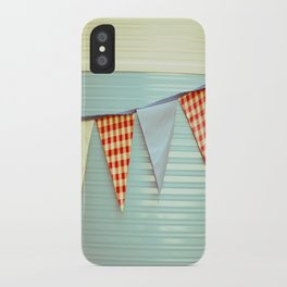 Vintage Caravanning iPhone Case