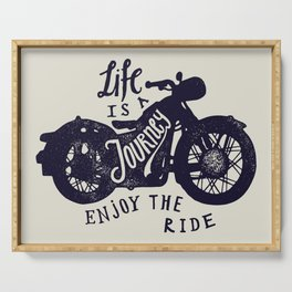 Life is a Journey Serving Tray