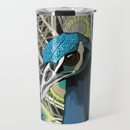 Hank the Peacock Travel Mug