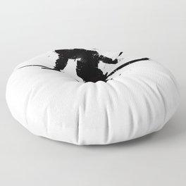 Ski jumper Floor Pillow