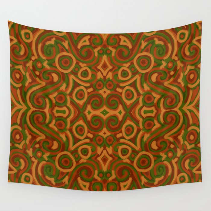 Bright tapestry Wall Tapestry