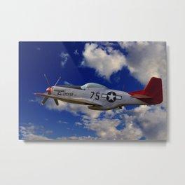 Tuskegee Airman Metal Print