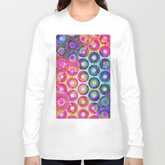 Rainbow Circle Sea Long Sleeve T-shirt