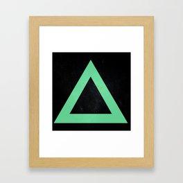 (TRIANGLE) Framed Art Print