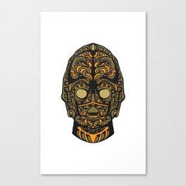 Copper Bot Problem Not Canvas Print