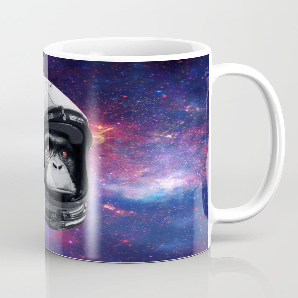 Astro Monkey Chimp Coffee Cup by Mememachine MUG8657990