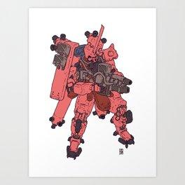 Zaku - Char Special Art Print