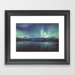 Jokulsarlon Lagoon - Landscape and Nature Photography Framed Art Print