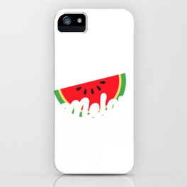 Be My Melontine Valentines Day product iPhone Case