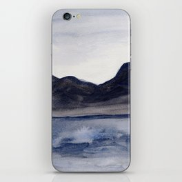 Moody Blue iPhone Skin
