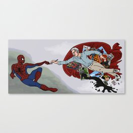 Stan The Creator  Canvas Print
