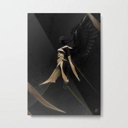 Alpha Metal Print