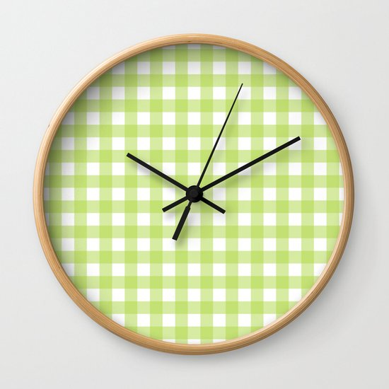 Green gingham pattern by pinkcloud