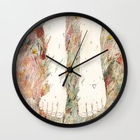 perfume Wall Clocks featuring Perfume #3 by Dao Linh