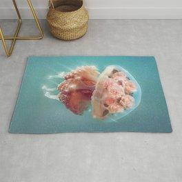 Floral Jellyfish Rug