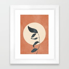 Summer Leaves Framed Art Print