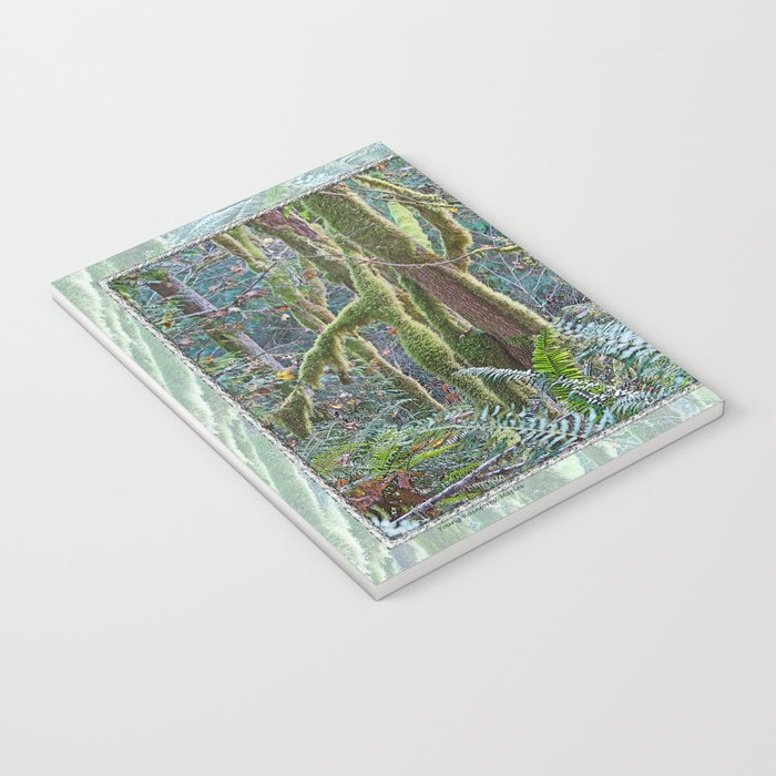 YOUNG RAINFOREST MAPLES Notebook