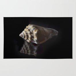 Spiral Sea Shell Rug