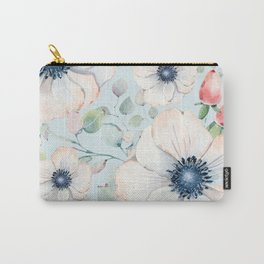 Summer Flowers #society6 #buyart Carry-All Pouch