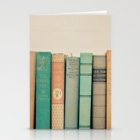 literary Stationery Cards featuring Literary Gems I by Laura Ruth