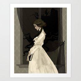 Mina Harker Art Print