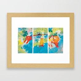 The Tyger Framed Art Print