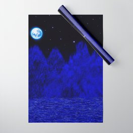 Full moon Wrapping Paper