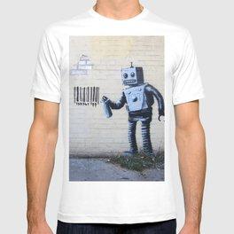 Banksy, Robot T-shirt