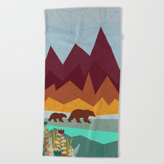 Peak Beach Towel