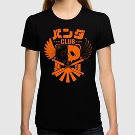 Panda Club Logo Design (Orange) T-shirt