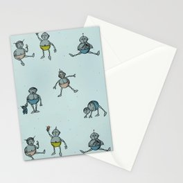 Robot Babies Stationery Cards