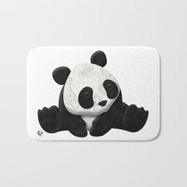Lace Agate Panda Bath Mat