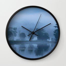 Peaceful Blue Wall Clock