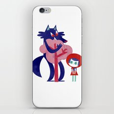 Red Riding Hood - tricolor version iPhone & iPod Skin