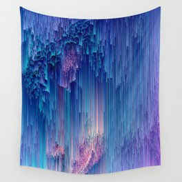 Fairy Glitches - Abstract Pixel Art Wall Tapestry