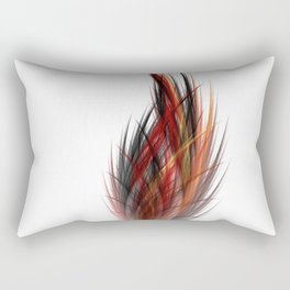 Fractal Feather Rectangular Pillow