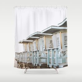 Off Duty Shower Curtain