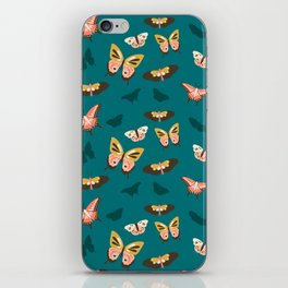 Butterfly Swarm iPhone Skin