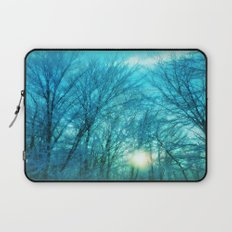 Landscape ~ Winter sunset Laptop Sleeve