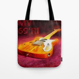 The THINLINE Between Us - Telecaster '69 Ri  Tote Bag