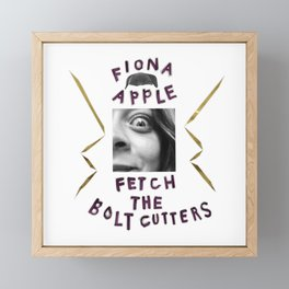 FIONA APPLE Framed Mini Art Print