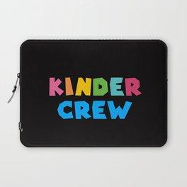 KINDER CREW, Kindergarten teacher Laptop Sleeve