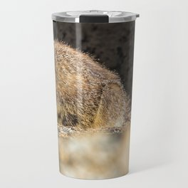 Two Marmots At Smith Rock Travel Mug
