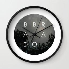 bravado Wall Clock