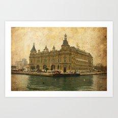Haydarpasa Railway Station Art Print