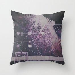Deconstruction Throw Pillow