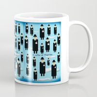 magritte Mugs featuring A coffee at Magritte by Jack  Marante